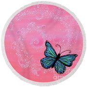 Cypress Wand Round Beach Towel
