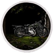 D-rad R04 In A Forest Round Beach Towel
