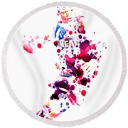 D Wade Round Beach Towel by Brian Reaves