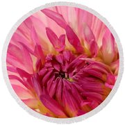 Dahlia 2am-104251 Round Beach Towel