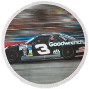 Dale Earnhardt Goodwrench Chevrolet Round Beach Towel