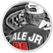 Dale Jr Round Beach Towel