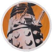 Dalek Round Beach Towel