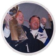 Dallas Cowboys 1992 National Football League Champions Round Beach Towel