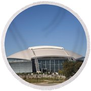 Dallas Cowboys Stadium Round Beach Towel