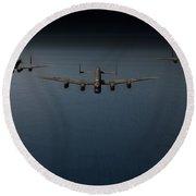 Dambusters Second Flight Round Beach Towel