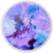 Dance With The Sky Round Beach Towel