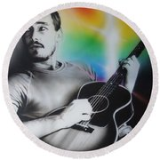 Daniel Johns Round Beach Towel
