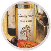 Danielle Marie 2004 Round Beach Towel by Debbie DeWitt