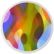 Dappled Art 8 Round Beach Towel
