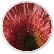 Dark Radiance Round Beach Towel
