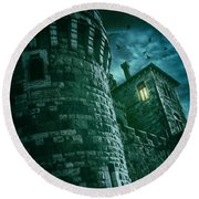 Dark Tower Round Beach Towel
