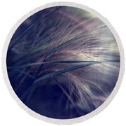 darkly series I Round Beach Towel