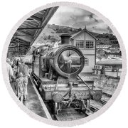 Dart Valley Railway Round Beach Towel