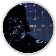 Darth Vader Round Beach Towel