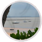 Fannie Bay 1.1 Round Beach Towel