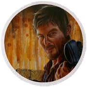 Daryl Round Beach Towel