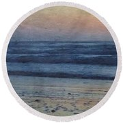 Dawning Round Beach Towel