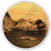 Dawning Of A New Day Round Beach Towel