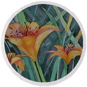 Day Lillie's Round Beach Towel