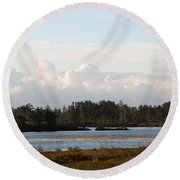 Day Of Beauty Round Beach Towel