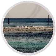 Daymarks Round Beach Towel