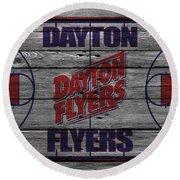 Dayton Flyers Round Beach Towel