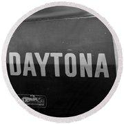 Daytona Dominator Round Beach Towel