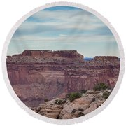 Dead Horse Point State Park 2 Round Beach Towel