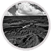 Dead Horse Point Utah Round Beach Towel