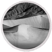 Death Valley National Park Stovepipe Wells Dunes 19 Round Beach Towel
