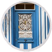 Decorative Door Round Beach Towel