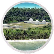 Deep Space Surveillance Facility Round Beach Towel
