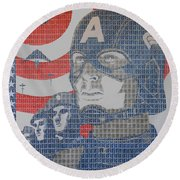 Defend The Nation Round Beach Towel
