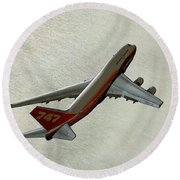 Definition - Boeing 747 Round Beach Towel
