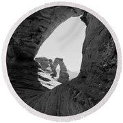 Delicate Arch 4 Round Beach Towel