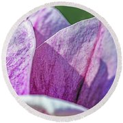 Delicate Nature Round Beach Towel