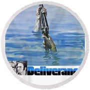 Deliverance Round Beach Towel