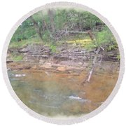 Dells Creekside Round Beach Towel