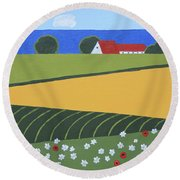 Denmark 5 Round Beach Towel