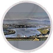 Derry View Round Beach Towel