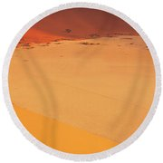 Desert Namibia Round Beach Towel