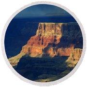 Desert View Grand Canyon 2 Round Beach Towel