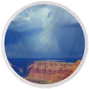 Desert View Grand Canyon Round Beach Towel