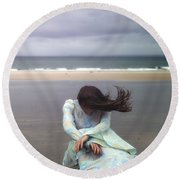 Desperation Round Beach Towel