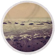 Destined To Be Round Beach Towel