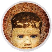 Devil Child Round Beach Towel