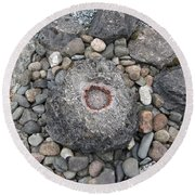 Devon Dartington Hall Stones Round Beach Towel