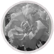 Dew Rose Round Beach Towel