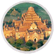 Dhammayangyi Temple - Bagan Round Beach Towel